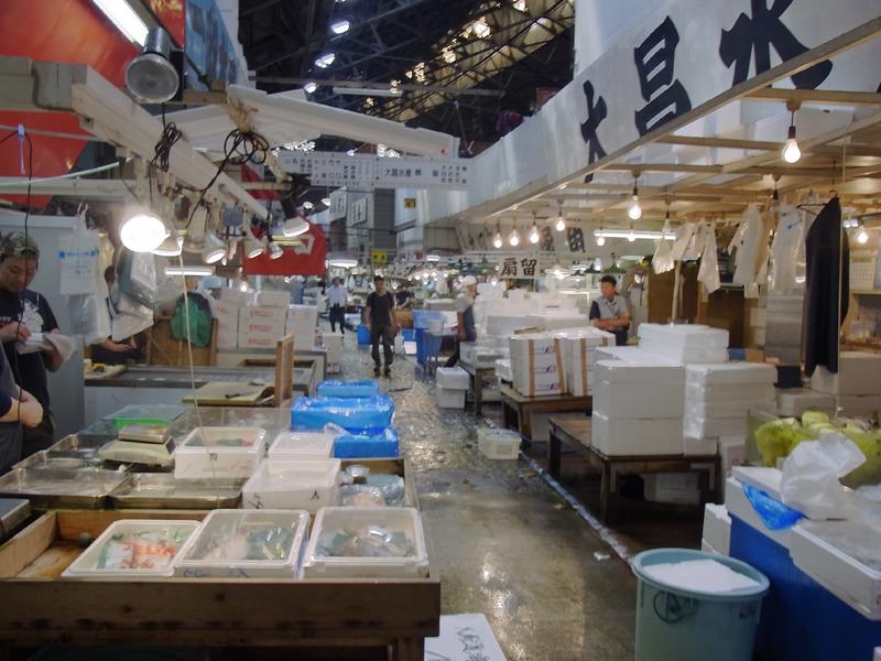 Tsukiji market tokyo highlights 4 hours tsukiji fish for Fish market hours